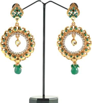 Mayine Fashion Zircon Alloy Chandelier Earring