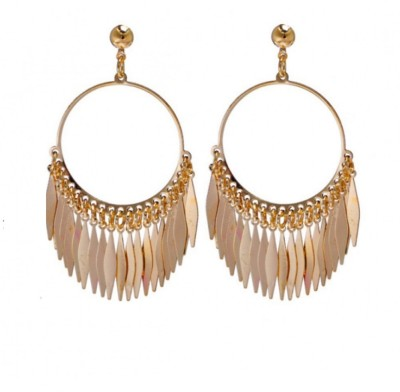 19 Likes Ethnic Sparkle Alloy Drop Earring