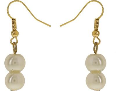 Niara Pearl Hanging Studs ER Metal Dangle Earring