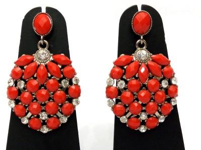 Womaniya Red Label Alloy Chandelier Earring