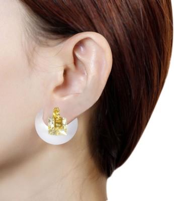 Prisha PPIPLCZER84 Zircon Copper Drop Earring