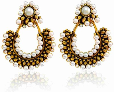 Vastradi Jewels Brass, Alloy Chandelier Earring