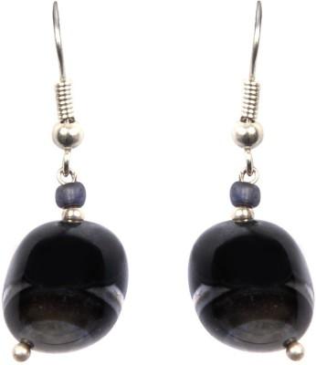 Just Women Genuine Rainbow Obsidian Alloy Dangle Earring