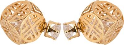 CTW Bali Oxidised Mines Alloy Stud Earring