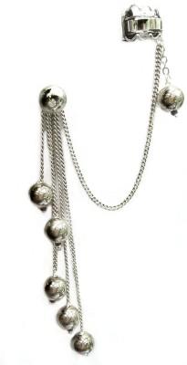Gurjari SilverMoti Brass Cuff Earring