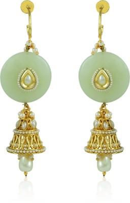 BoBell Contemporary Stone Indi Copper Drop Earring