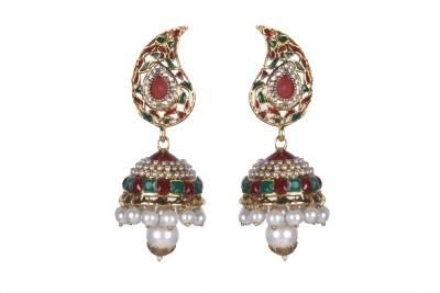 Tatva Rajwadi Fashion Alloy Jhumki Earring