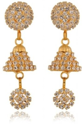 Rooh Jewellery Diamond Copper Drop Earring