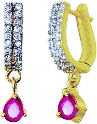 Aura Collection AD Stylish Alloy Hoop Earring