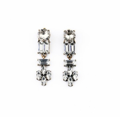 femnmas Crystal Luxury Fashion Zinc Drop Earring