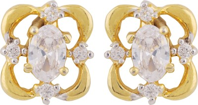 Be You Charismatic Cubic Zirconia Brass Stud Earring