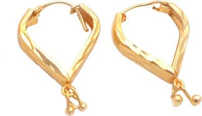 Jewar Mandi Unique Jewellery Metal Hoop Earring