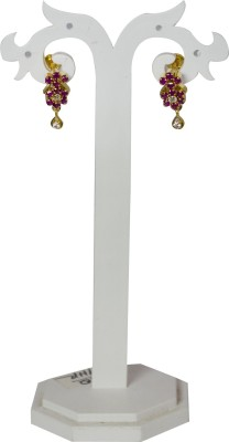 Jewelgrab Sai Ad Ruby Alloy Drop Earring