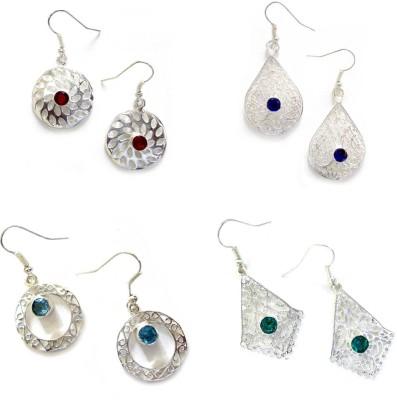 Fashion67 Stylish & Elegant Quartz Brass Earring Set
