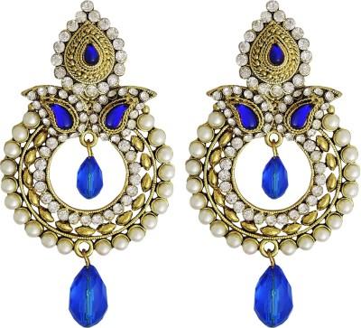 Yogada Ethnic014 Alloy Chandbali Earring