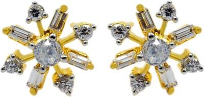 Silvesto India 720 Cubic Zirconia Stone Stud Earring