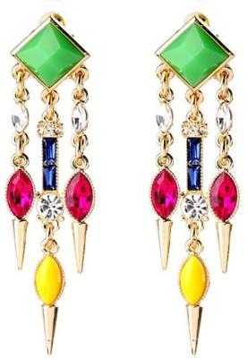 KooKoo Fashion Modern Concise Earring Acrylic, Alloy Dangle Earring