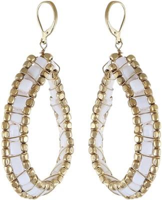 Arittra WHITE STONE Stone Dangle Earring