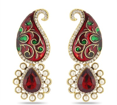 Luxor Spring Sparkle Earrings Diamond Alloy Drop Earring at flipkart