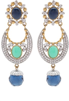 Mayra Handicrafts Attractive Brass Drop Earring
