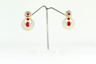 Chouhan Stylish earing set Metal Chandbali Earring