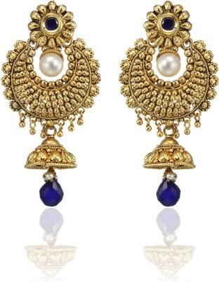 Zaveri Pearls Modern Aesthetics Zinc Jhumki Earring