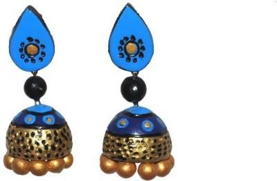 Aanya Creations Handmade Fashion Ceramic Jhumki Earring