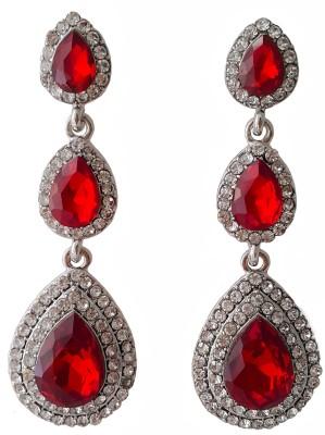 melange fashions MFJ02 Crystal Alloy Chandelier Earring