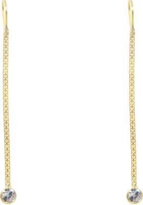 Valentina Princess Delight Swarovski Crystal Gold Dangle Earring