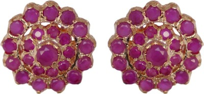 Janki Jewellers Glittering Design Cubic Zirconia Alloy Stud Earring