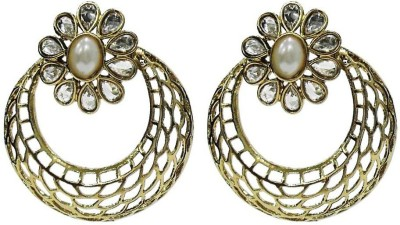 Deco Junction Alloy Chandbali Earring