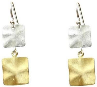 VelvetCase Matte Passion Dangler Earrings Silver Drop Earring