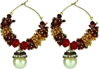 Dressme Designer Collection Crystal Hoop Earring