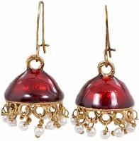 Maayra Chic Meenakari Copper Jhumki Earring best price on Flipkart @ Rs. 299