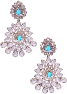 Rubena gaudy Metal Drop Earring