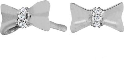 JacknJewel Fussy Diamond Silver Stud Earring
