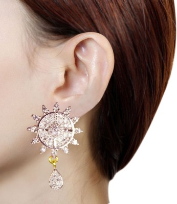Prisha PPIPLCZER79 Zircon Copper Stud Earring