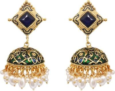 Jewelfin Party Wear Alloy Jhumki Earring