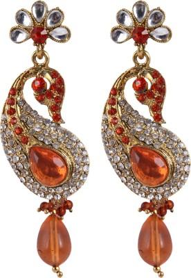 Shopernow Ethnic jewels Alloy Chandelier Earring