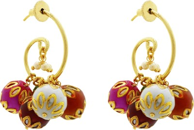 Ishaani 7 in 1 Brass Earring Set