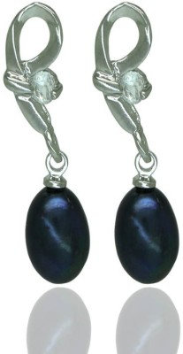 Prisha DSNER178 Pearl Copper Drop Earring