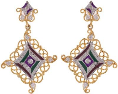 Neckies AFJE044 Brass Drop Earring