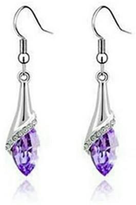 University Trendz univ _E064 Crystal Alloy Dangle Earring