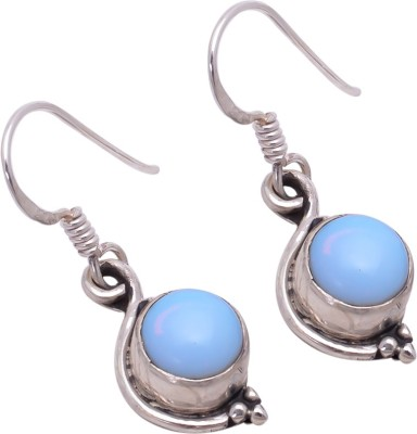 Jhumka Creations Spring Sparkle Quartz Silver Dangle Earring