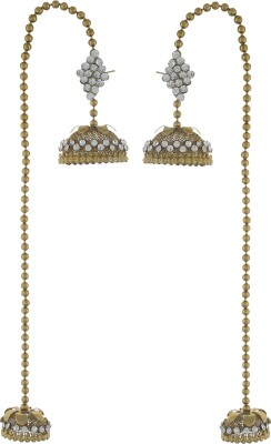 Dimple Creation DC01 Alloy Jhumki Earring