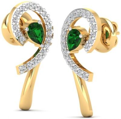 Joyra Majestic Swarovski Zirconia Sterling Silver Stud Earring