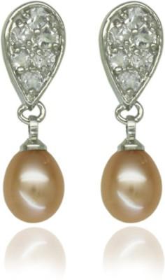 OnlinePearlShop Pearl Alloy Stud Earring
