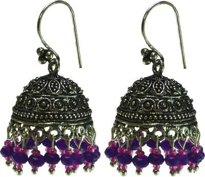 Dressme Designer Collection Crystal Jhumki Earring