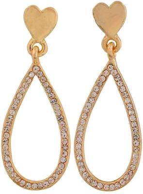 Maayra Special Crystal Alloy Drop Earring