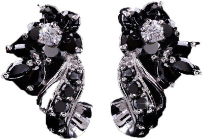 ArietteJewels Zinnia Earrings - Black Copper Stud Earring